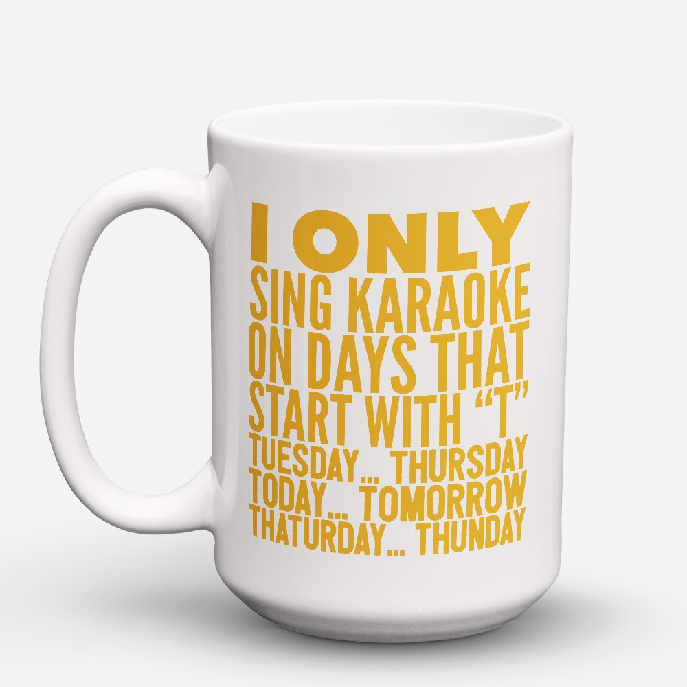 "Limited Edition - ""Start With T"" 15oz Mug"