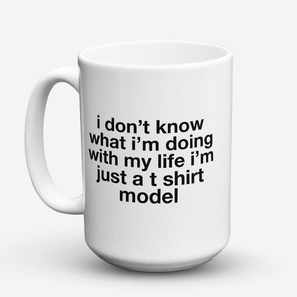 "Limited Edition - ""T Shirt Model"" 15oz Mug"