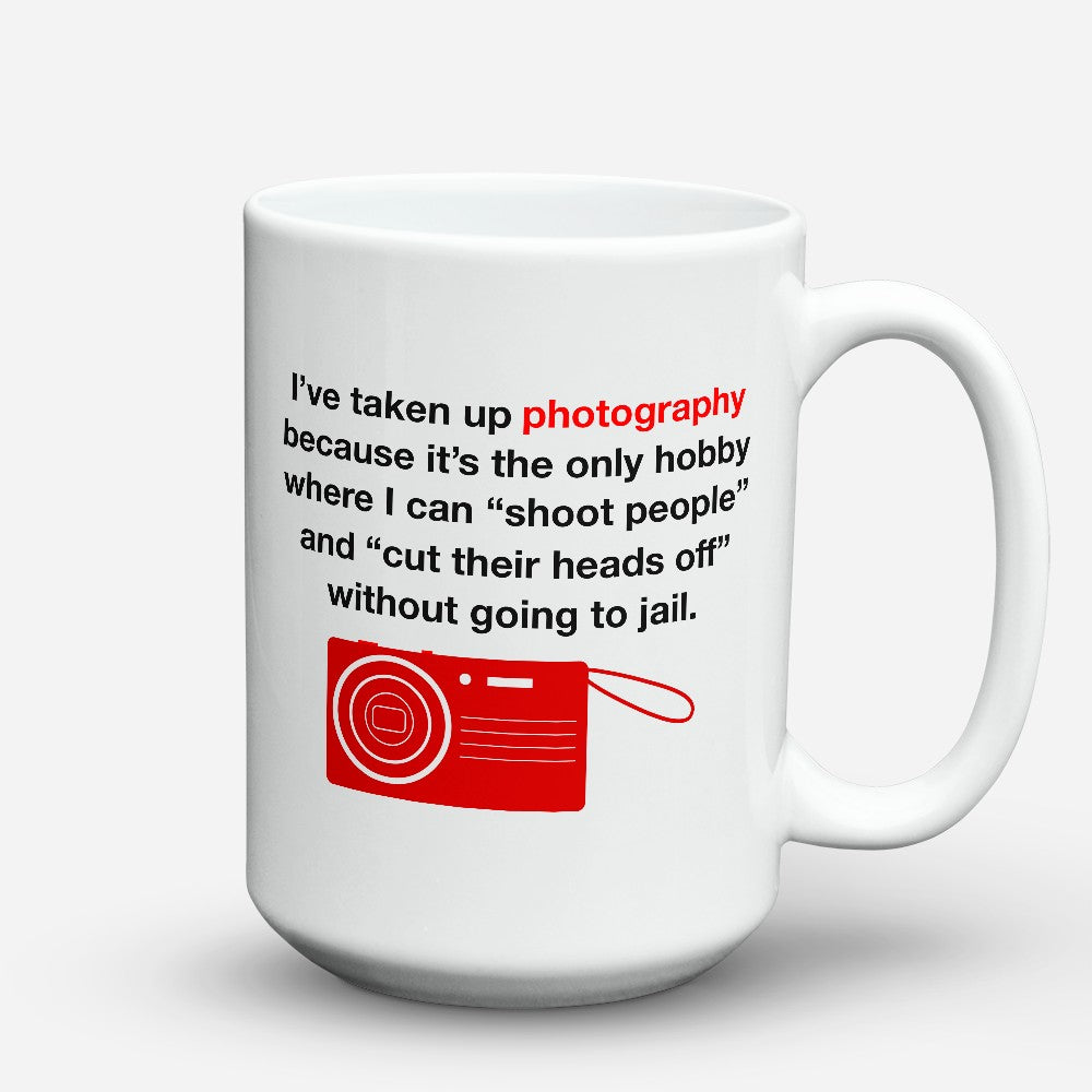 "Limited Edition - ""Taken Up Photography"" 15oz Mug"