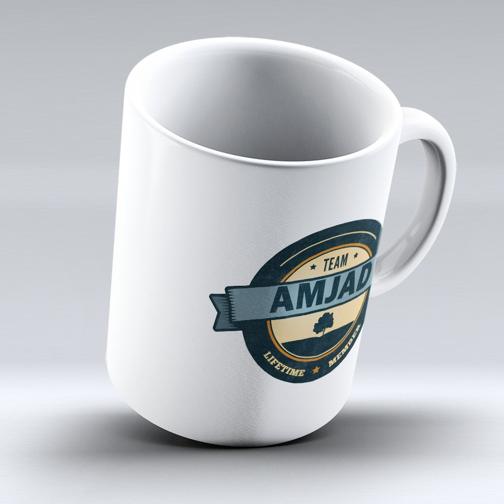 "Limited Edition - ""Team Amjad"" 11oz Mug"