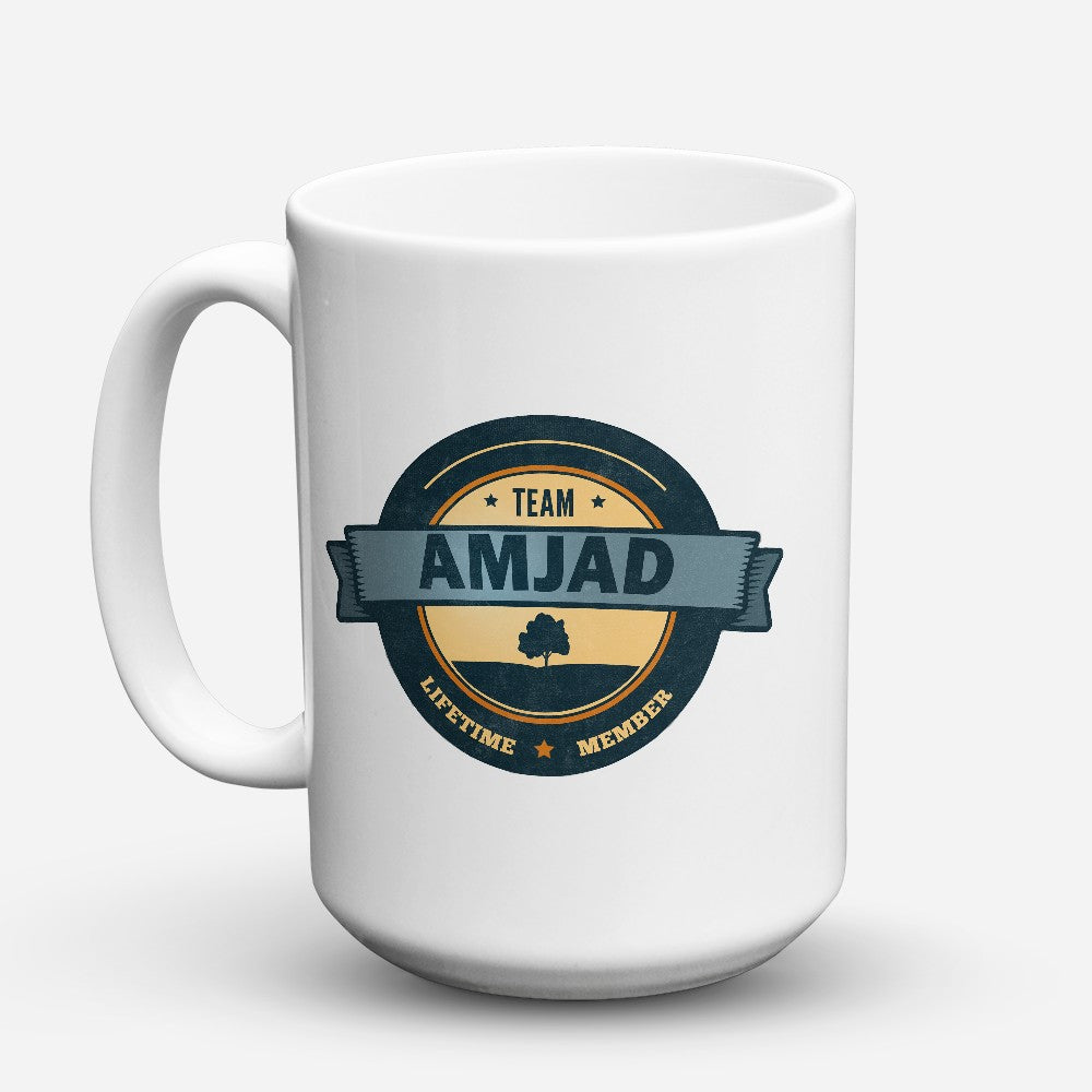 "Limited Edition - ""Team Amjad"" 15oz Mug"