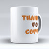 "Limited Edition - ""Thankful For Coffee"" 11oz Mug - Thanksgiving Mugs - Mugdom Coffee Mugs"