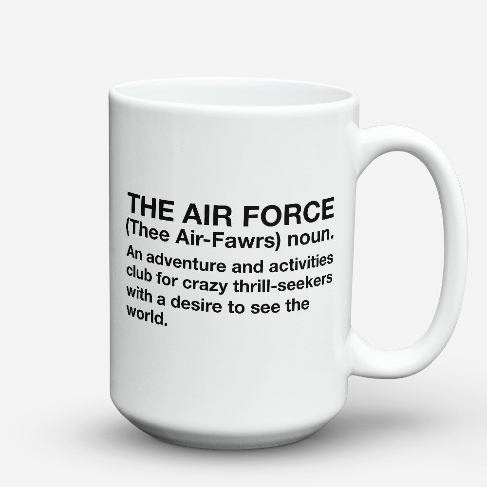 "Limited Edition - ""The Air Force"" 15oz Mug"