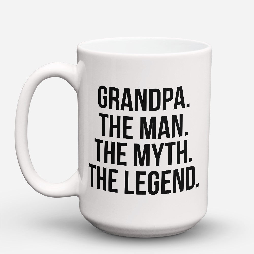 "Limited Edition - ""The Man Myth Legend"" 15oz Mug"