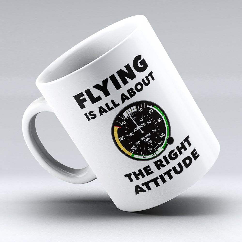 "Limited Edition - ""The Right Attitude"" 11oz Mug"