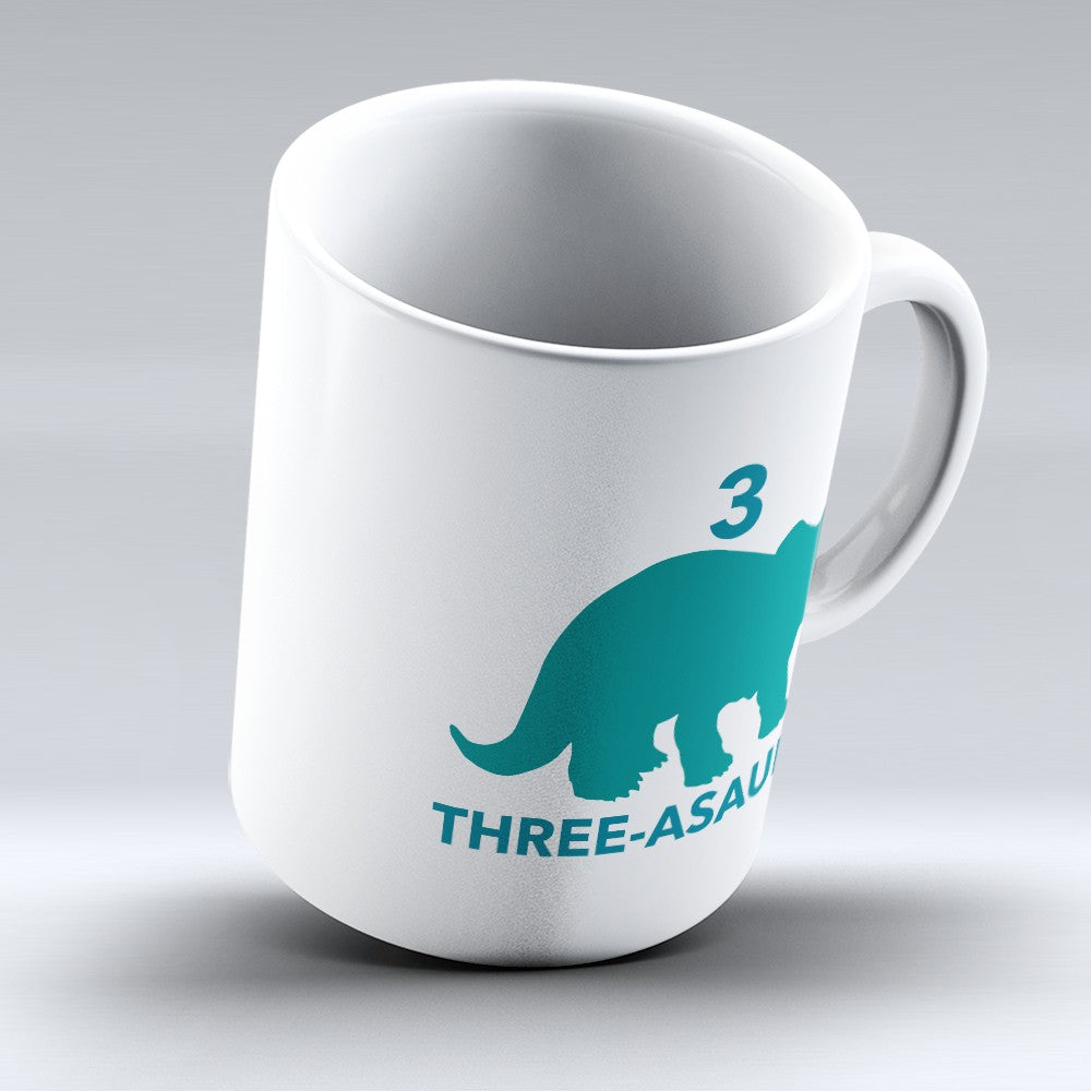 "Limited Edition - ""Three - Asaurus"" 11oz Mug"