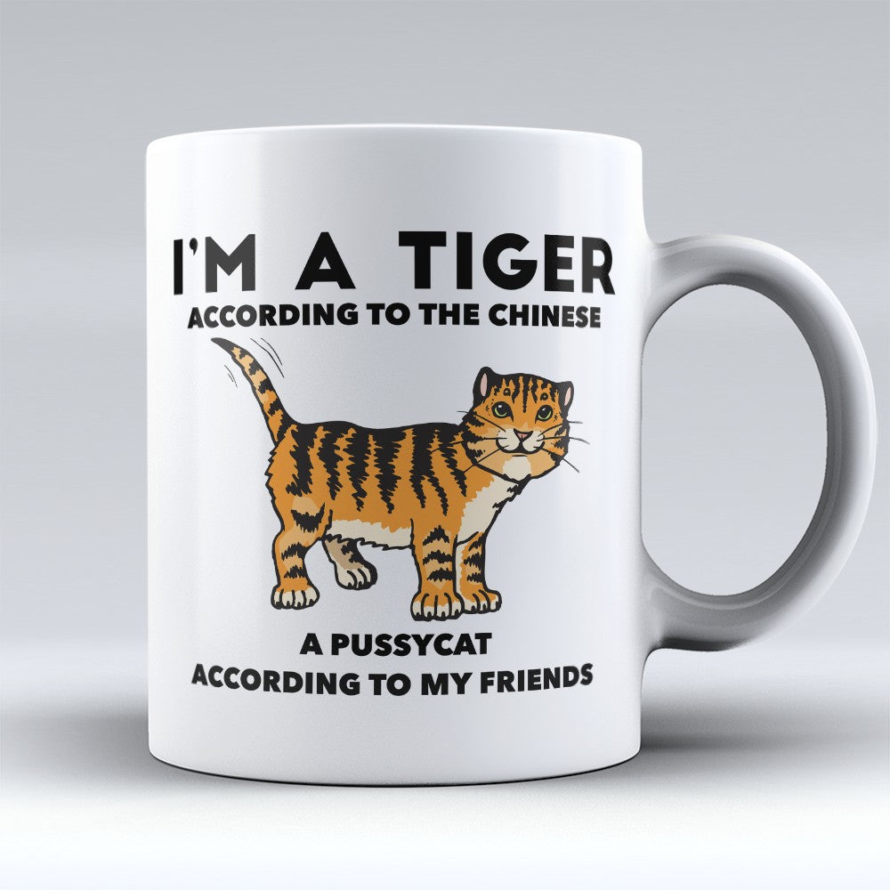 "Limited Edition - ""Tiger According To The Chinese"" 11oz Mug"
