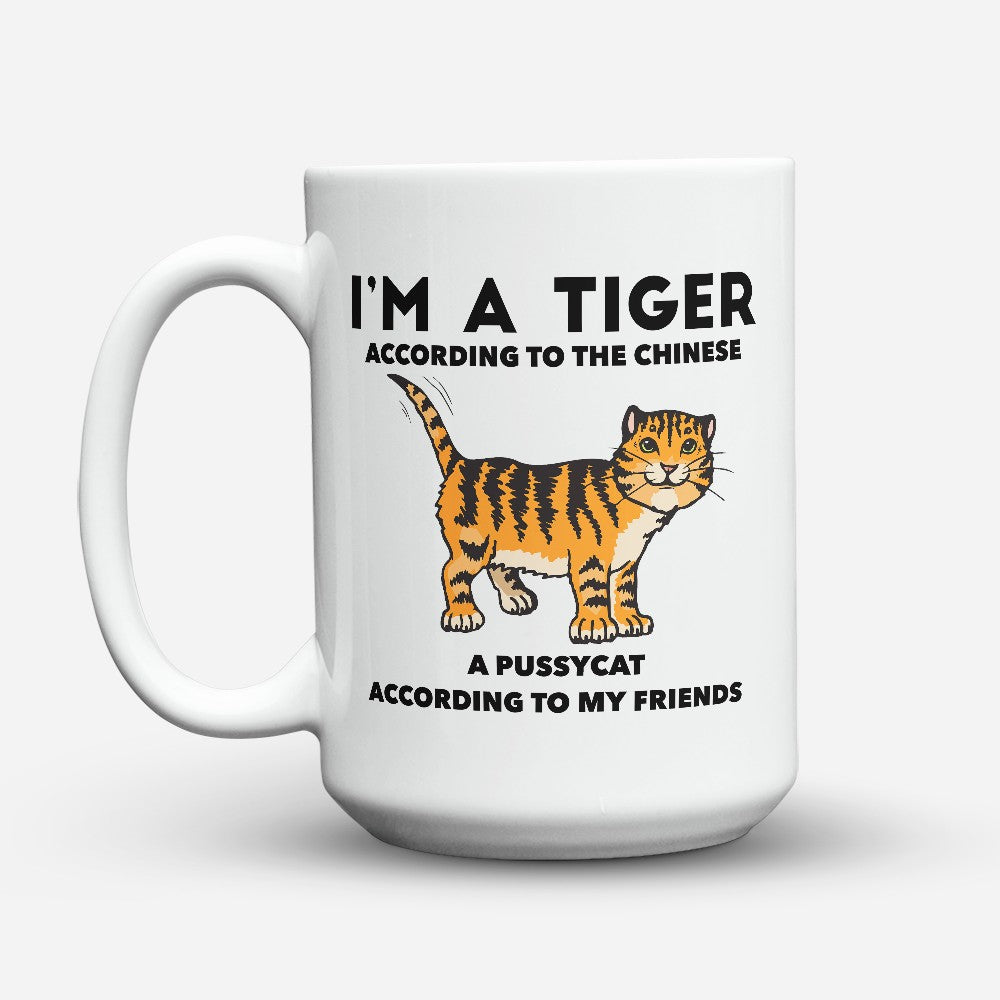 "Limited Edition - ""Tiger According To The Chinese"" 15oz Mug"