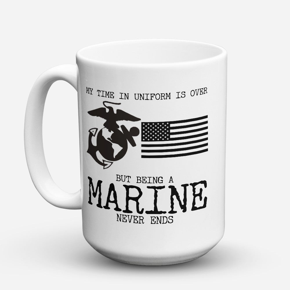 "Limited Edition - ""Time In Uniform"" 15oz Mug"