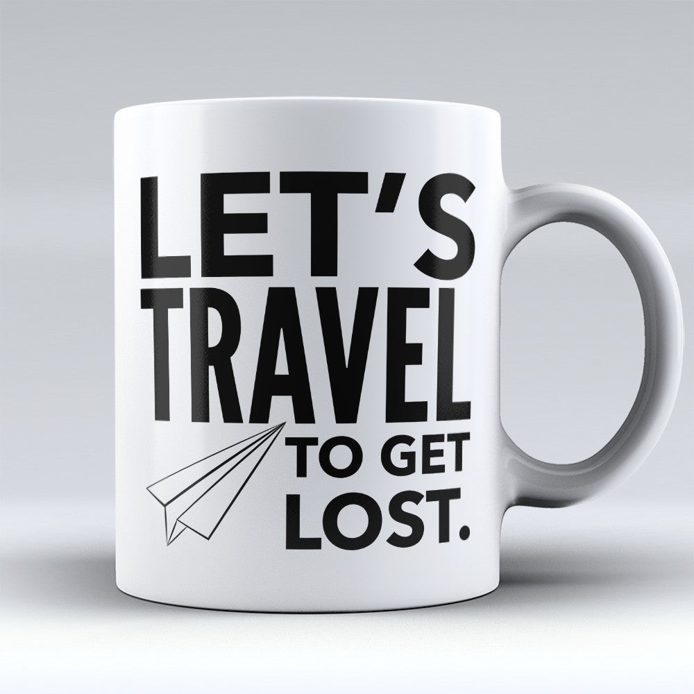 "Limited Edition - ""To Get Lost"" 11oz Mug"