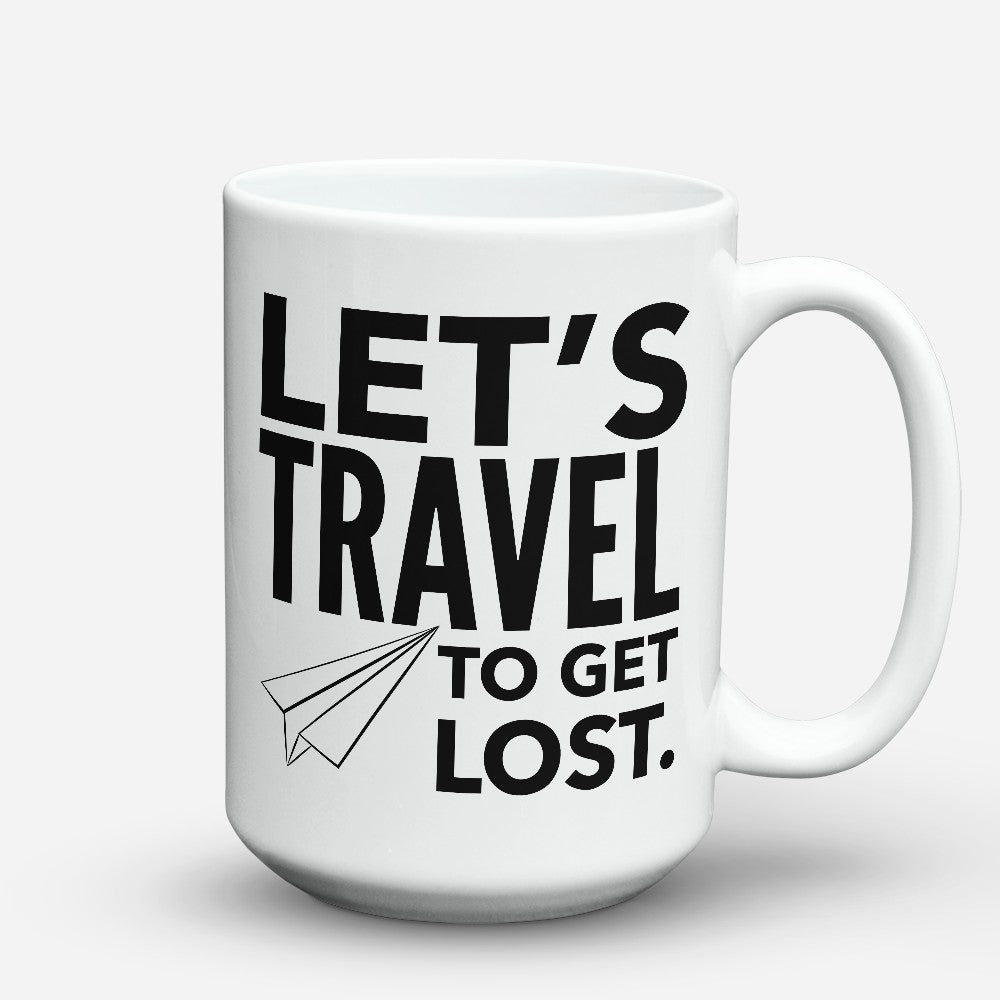 "Limited Edition - ""To Get Lost"" 15oz Mug"