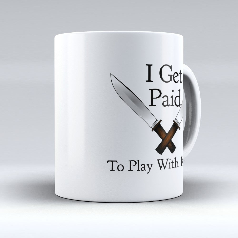 "Limited Edition - ""To Play With Knives"" 11oz Mug"