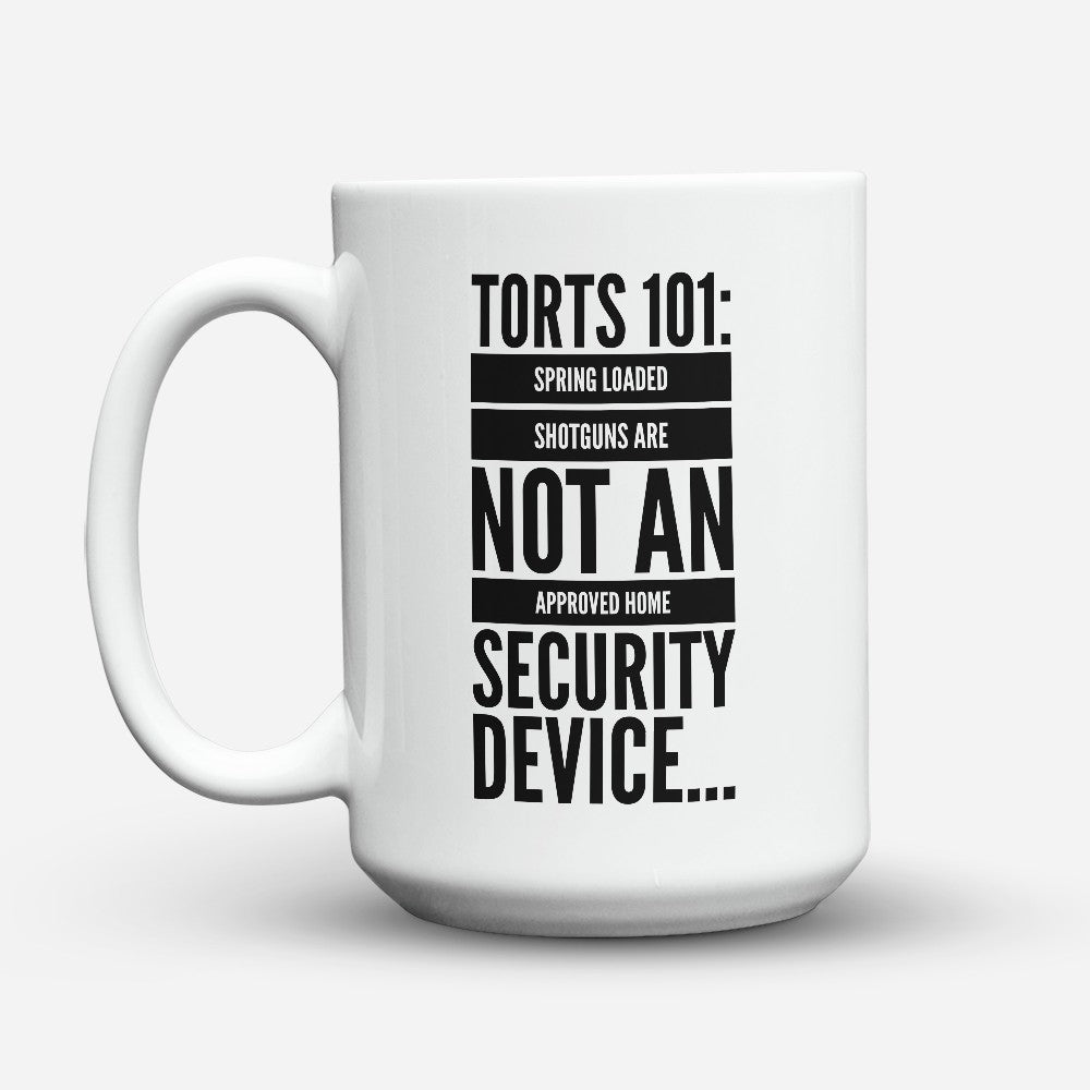 "Limited Edition - ""Torts 101"" 15oz Mug"