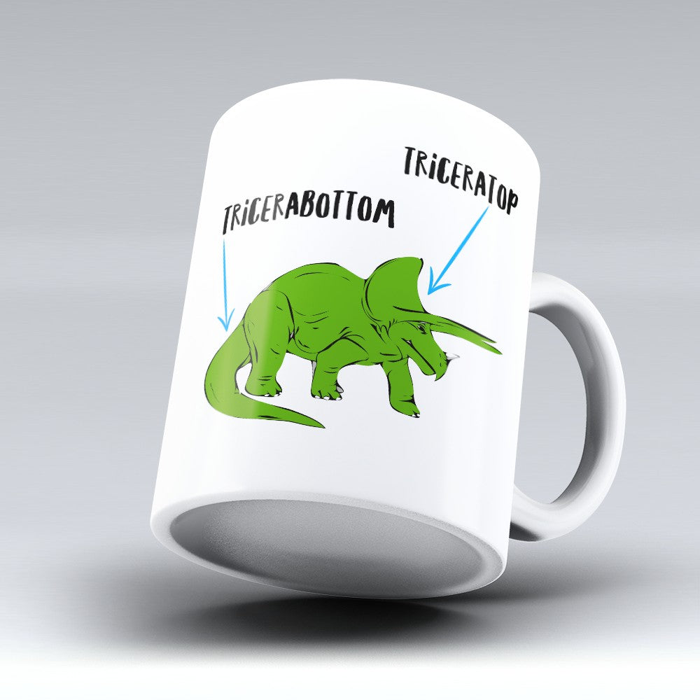 "Limited Edition - ""Tricerabottom"" 11oz Mug"