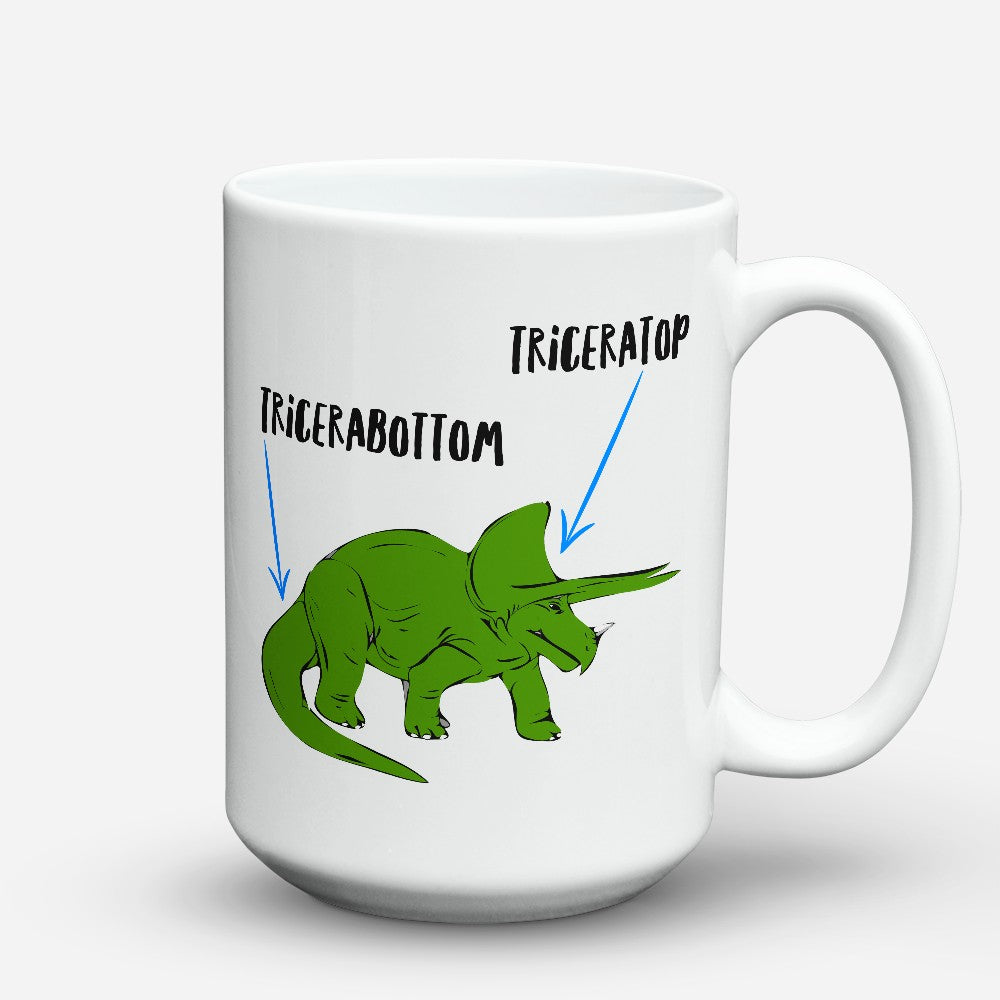 "Limited Edition - ""Tricerabottom"" 15oz Mug"