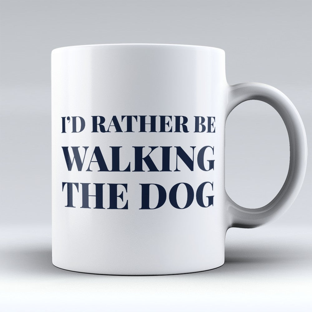 "Limited Edition - ""Walking The Dog"" 11oz Mug"