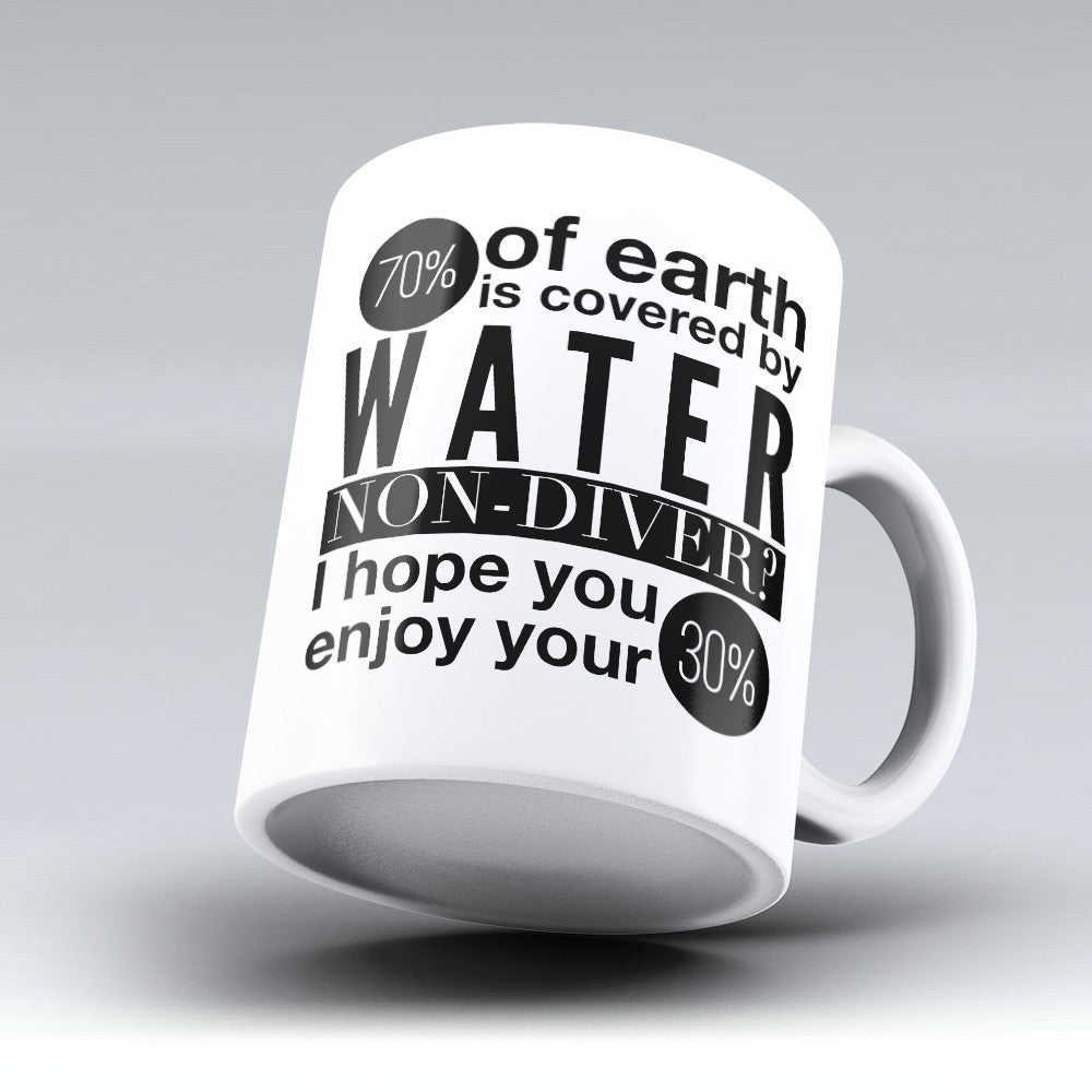 "Limited Edition - ""Water Non - Diver"" 11oz Mug"
