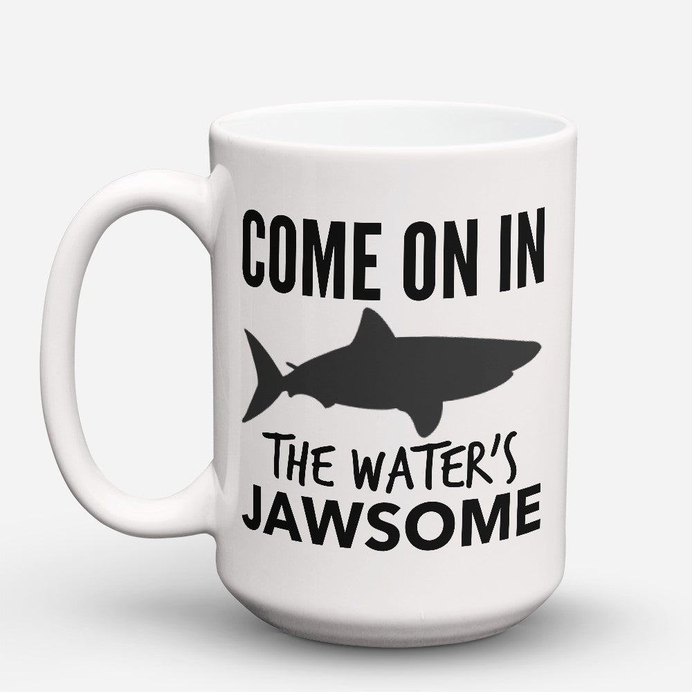 "Limited Edition - ""Waters Jawsome"" 15oz Mug"