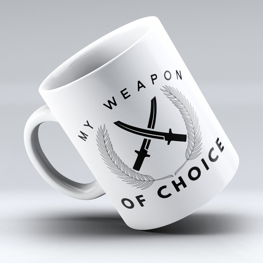 "Limited Edition - ""Weapon Of Choice"" 11oz Mug"
