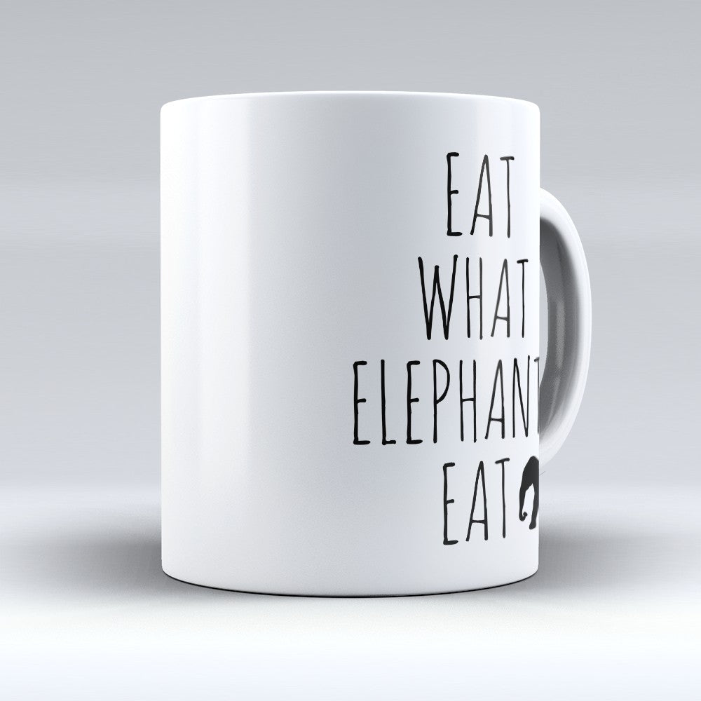 "Limited Edition - ""What Elephants Eat"" 11oz Mug"