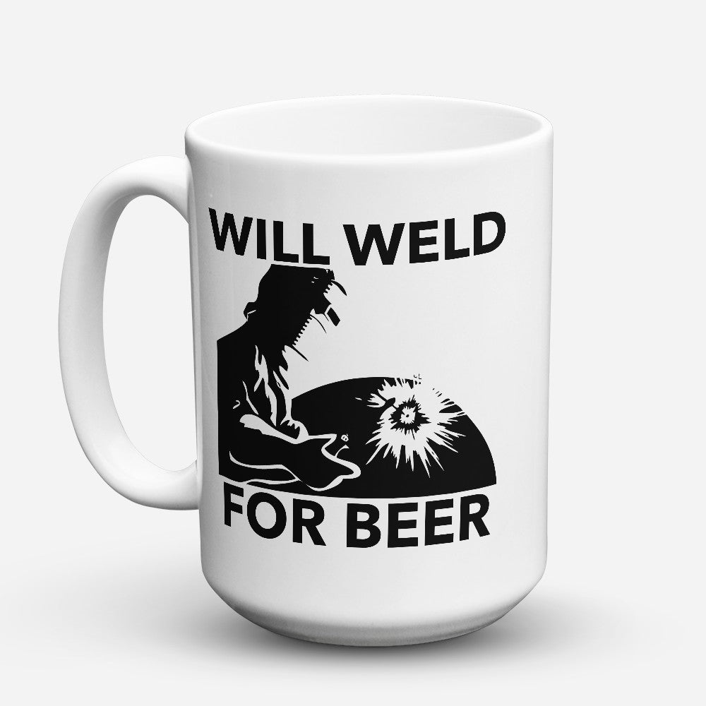 "Limited Edition - ""Will Weld"" 15oz Mug"