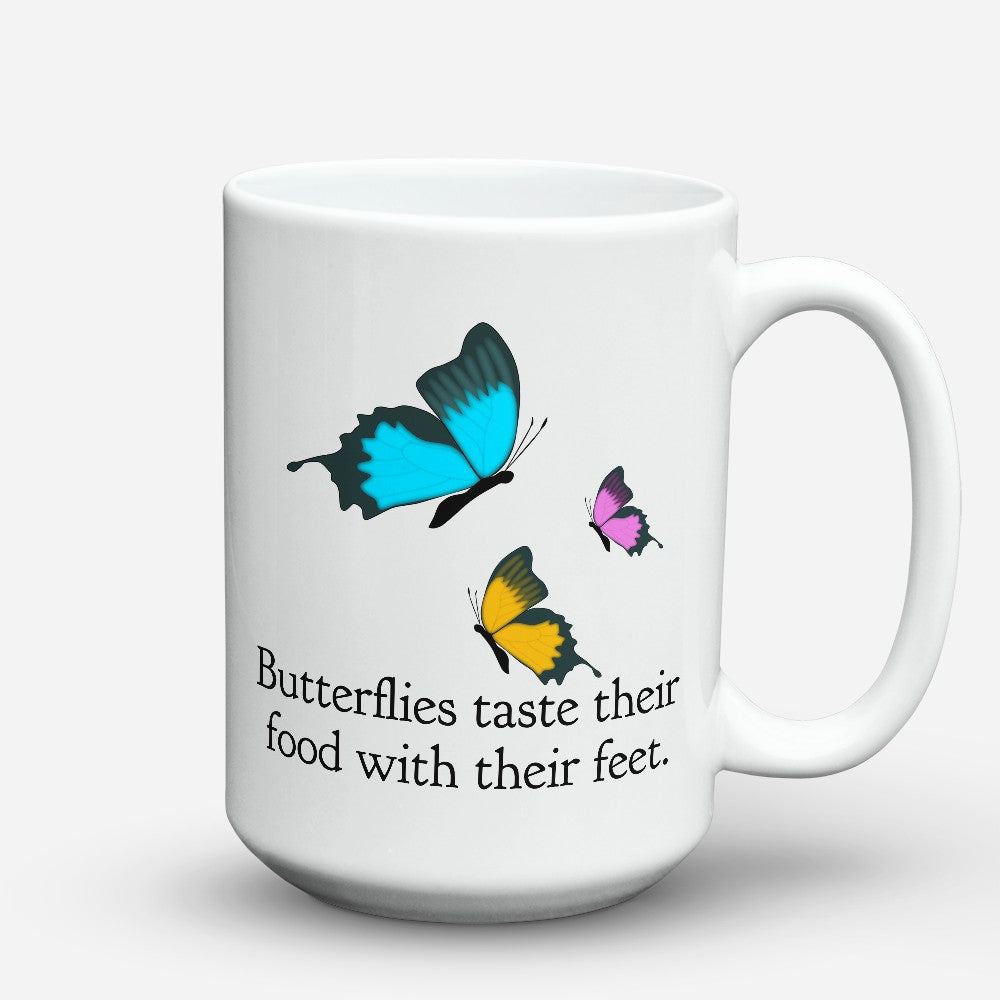 "Limited Edition - ""With Their Feet"" 15oz Mug"
