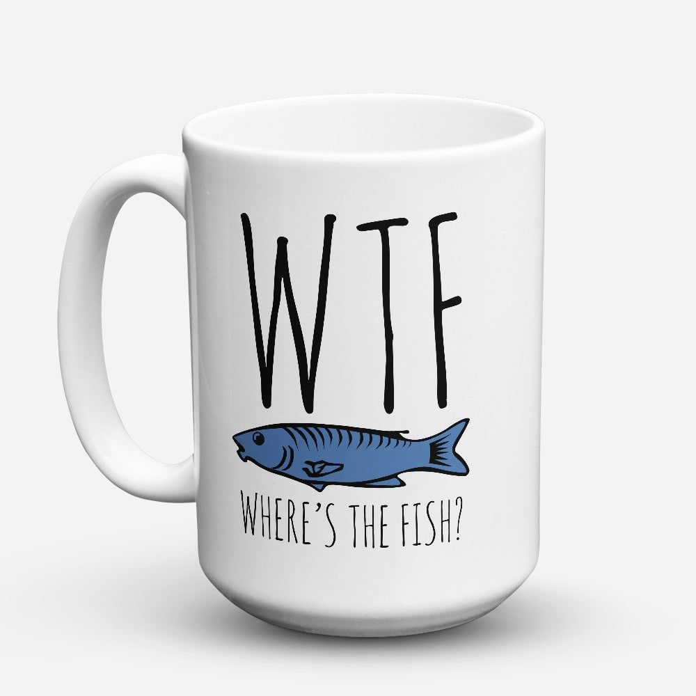 "Limited Edition - ""Wtf"" 15oz Mug"