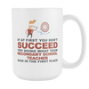 "Limited Edition - ""What Your Secondary School Teacher Said"" 15oz Mug - Secondary School Teacher Mugs - Mugdom Coffee Mugs"