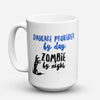 "Limited Edition - ""Daycare Provider Zombie"" 15oz Mug - Daycare Provider Mugs - Mugdom Coffee Mugs"