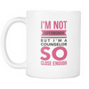 "Limited Edition - ""Counselor Superwoman"" 11oz Mug - Counseling Mugs - Mugdom Coffee Mugs"
