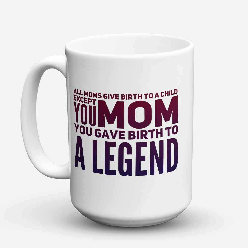 "Limited Edition - ""A Legend"" 15oz Mug"