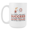 "Limited Edition - ""What Your History Teacher Said"" 15oz Mug - History Teacher Mugs - Mugdom Coffee Mugs"
