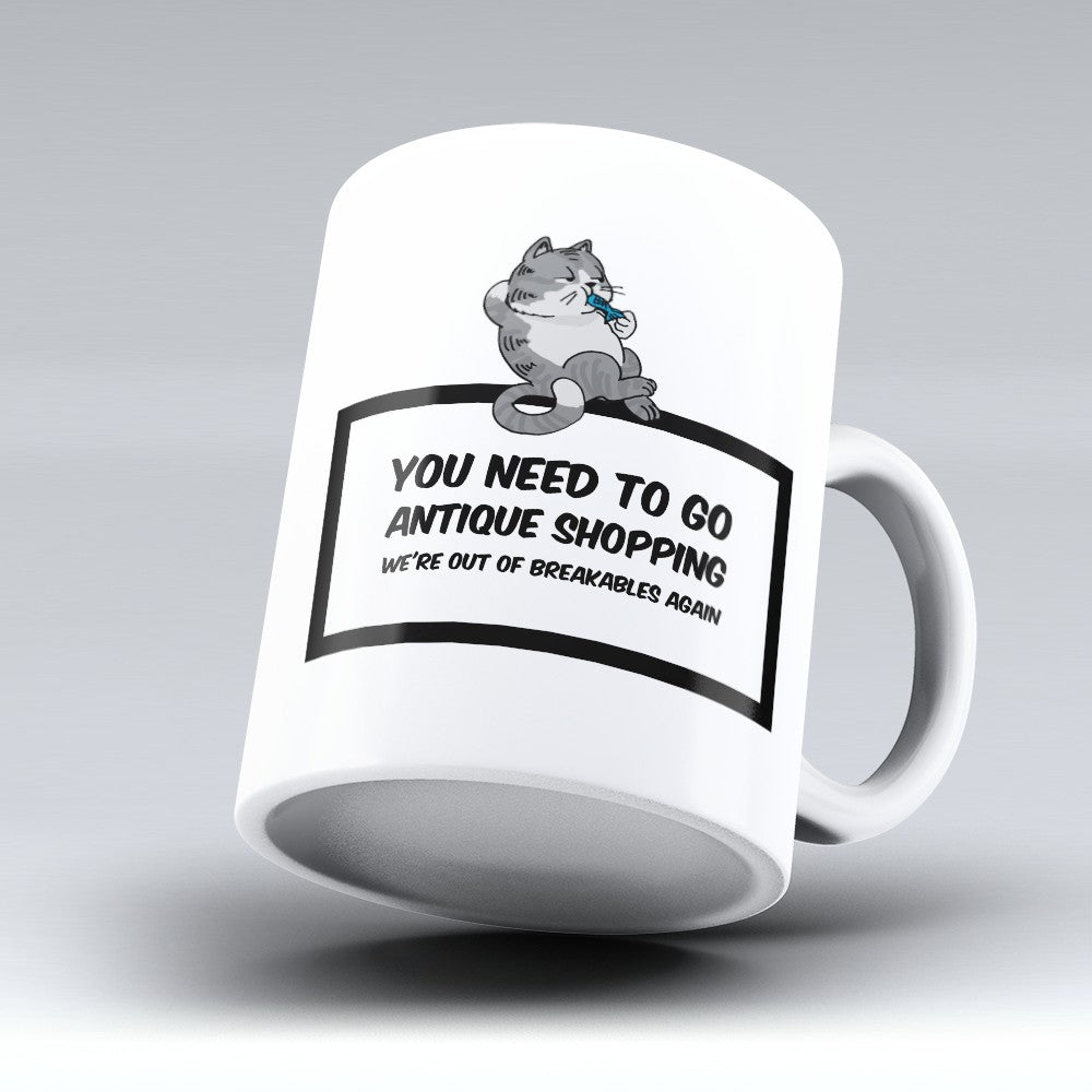 "Limited Edition - ""Antique Shopping"" 11oz Mug"