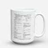 "Limited Edition - ""Canada Application "" 15oz Mug - Canada Mugs - Mugdom Coffee Mugs"