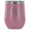 "Limited Edition - ""On Your Marks"" - 12oz Insulated Stainless Steel Wine Tumbler"