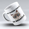 "Limited Edition - ""My Blood Type"" 11oz Mug - Nurse Mugs - Mugdom Coffee Mugs"