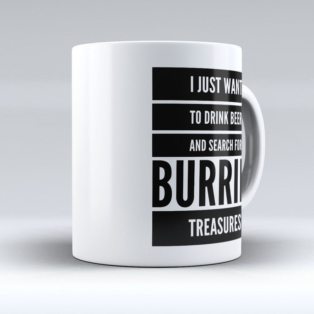 "Limited Edition - ""Burried Treasures"" 11oz Mug"