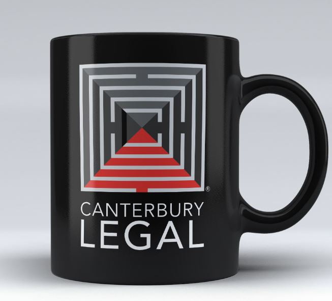 Custom Design - Canterbury Legal - 11oz Black