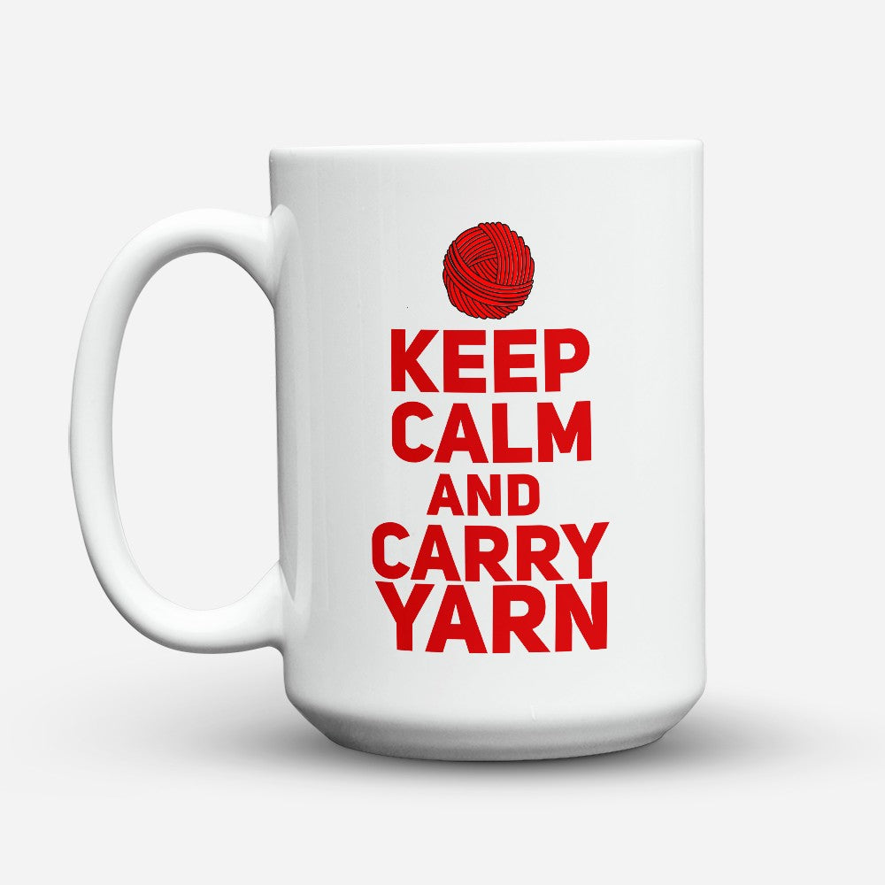 "Limited Edition - ""Carry Yarn"" 15oz Mug"