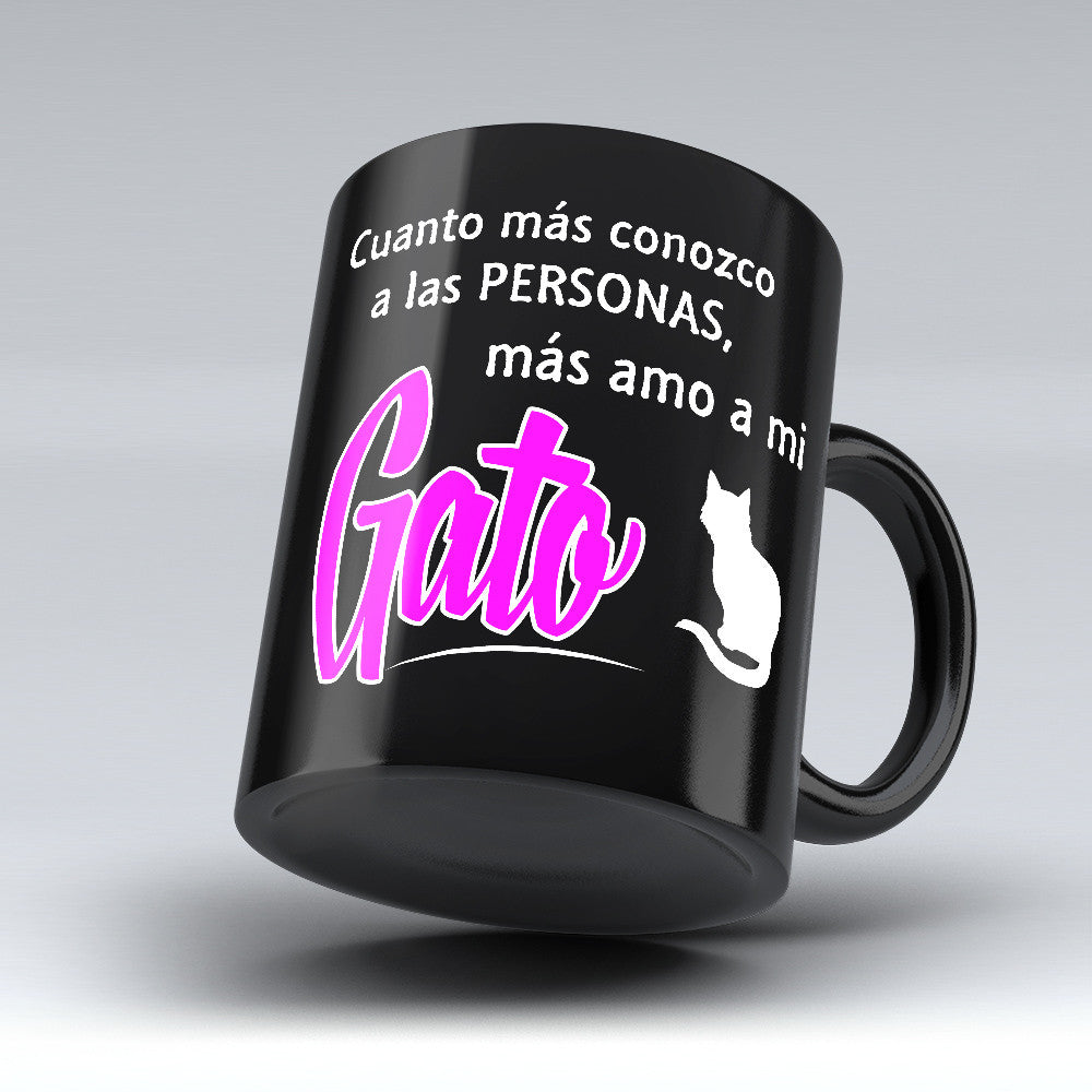 "Limited Edition - ""Más Amo A Mi Gato"" 11oz Mug - Cat Mugs - Mugdom Coffee Mugs"