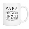 "Limited Edition - ""PAPA"" - 11oz Mug - Mugdom Coffee Mugs"