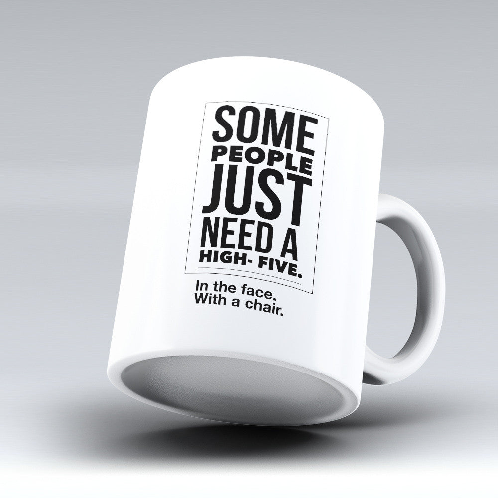 "Limited Edition - ""In The Face"" 11oz Mug - Funny Mugs - Mugdom Coffee Mugs"
