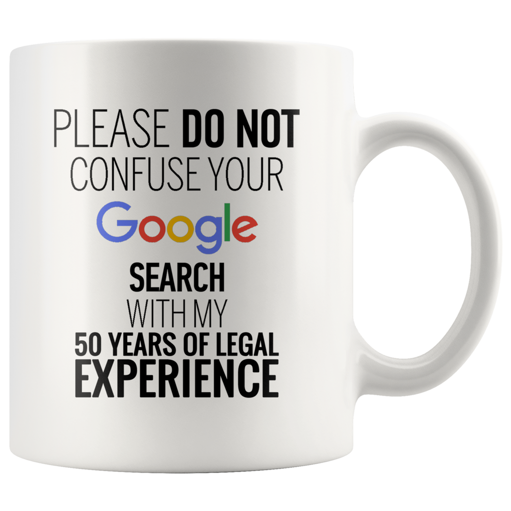 50 Years Of Legal Experience - 11oz Mug