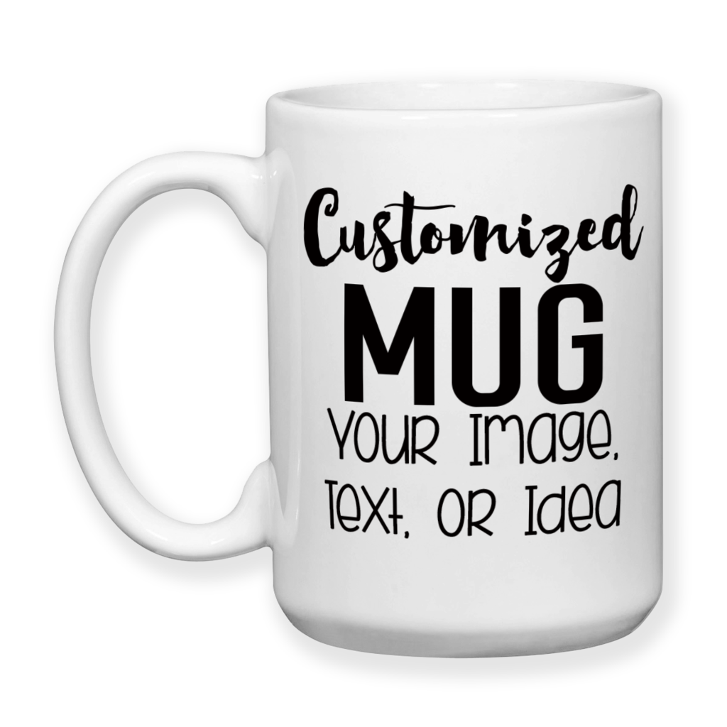 Custom Mug Design - Custom Design - Mugdom Coffee Mugs