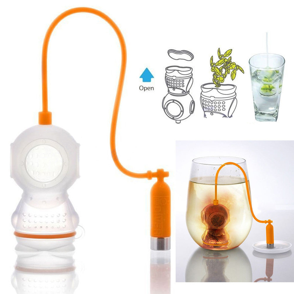 "Limited Edition ""Deep Tea Diver"" Tea Infuser - Coffee Tool - Mugdom Coffee Mugs"