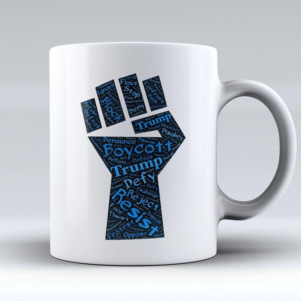 "Limited Edition - ""Defiance"" 11oz Mug - Political Mugs - Mugdom Coffee Mugs"