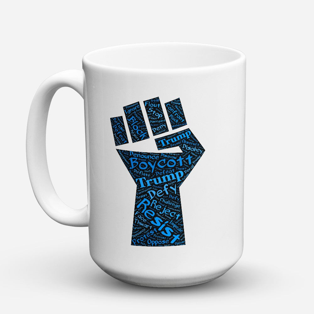 "Limited Edition - ""Defiance"" 15oz Mug - Political Mugs - Mugdom Coffee Mugs"