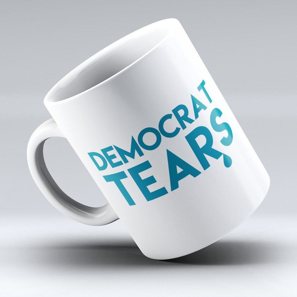 "Limited Edition - ""Democrat Tears"" 11oz Mug - Political Mugs - Mugdom Coffee Mugs"