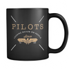Pilots Looking Down 11oz Mug (Version 2)