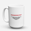 "Limited Edition - ""Engineer - Fact"" 15oz Mug - Engineer Mugs - Mugdom Coffee Mugs"